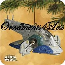 2002 Slave 1 Starship - Star Wars Episode II - #QXI8223 - SDB/NO MEMORY CARD