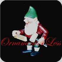 1987 Hans - The Carpenter Elf - Toymaker Elves Collection - Limited Figurine - #QSP9307