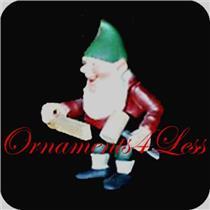 1987 Hans - The Carpenter Elf - Toymaker Elves Collection - Limited Figurine - #QSP9307