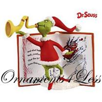 Hallmark Ornament 2009 Christmas Means Something More - Dr. Seuss - #QXI1175