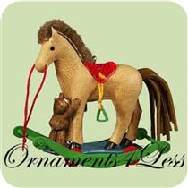 Hallmark Keepsake Ornament - 2004 A Pony for Christmas #7 - #QX8221