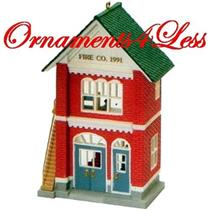 1991 Nostalgic Houses and Shops #8 - Fire Station - #QX4139