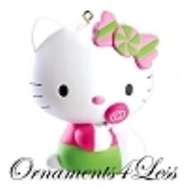 American Greetings 2012 Hello Kitty with a Lollipop - #CXOR083B
