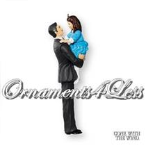 Hallmark Keepsake Ornament 2007 Rhett Butler and Bonnie Blue - #QXI4409