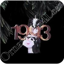 1993 Fabulous Decade #4 - Skunk - #QX4475 - SDB