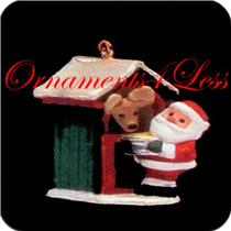 1992 Feeding Time - Miniature Ornament - #QXM5481- SDB