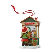 Hallmark Club Series Ornament 2014 Christmas Window #12 - Nina's Nook - #QXC5076