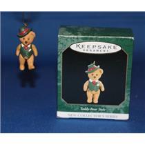 1997 Teddy Bear Style #1 - #QXM4215 - DB