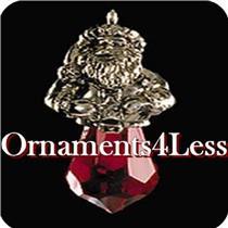 1999 Crystal Claus - Miniature Ornament - #QXM4637