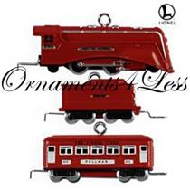 Hallmark Miniature Ornament 2009 The Red Comet Set - Set of 3 Trains QXM9202-SDB