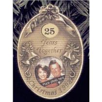 1992 Anniversary Year Photoholder - with year charms - #QX4851 - SDB