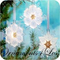 2011 Sparkling Snowflake Ornament Set - Wonder and Light Magic - #QXG3679