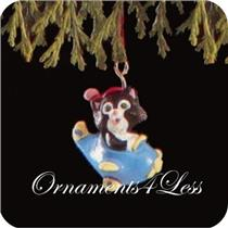 1991 Kittens in Toyland #4 - Miniature Ornament - #QXM5639 - DB