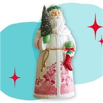 2013 England - Santa's From Around the World Porcelain Tabletop Decoration - LPR3372