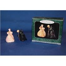 1998 Glinda the Good Witch and Wicked Witch of the West - Miniatures-QXM4233-SDB