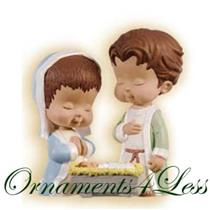 2009 A Newborn Blessing - Mary's Angels Club Ornament - #QXC9015 - SDB