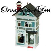 1990 Nostalgic Houses and Shops #7 - Holiday Home - QX4696