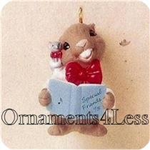 1995 Friendship Duet - Miniature Ornament - #QXM4019