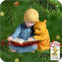 2000 Winnie the Pooh & Christopher Robin #2 -Story Time with Pooh - #QXD4024-SDB