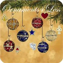 2002 Gifts of the Season - Set of 6 Miniature Ornaments - #QXM4576