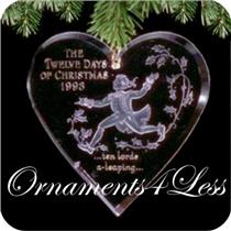 1993 Twelve Days of Christmas #10 - Ten Lords a Leaping - #QX3012
