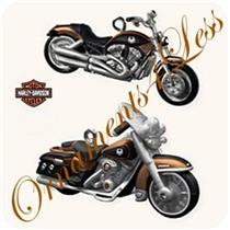 Hallmark Miniature Ornament 2008 VRSCAW V-Rod FLHRC Road King Classic - #QXM8101