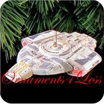 1997 USS Defiant - Star Trek Magic - #QXI7481