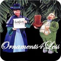 1998 Munchkinland Mayor and Coroner - Wizard of Oz - #QX6463