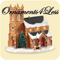 Hallmark Series Ornament 2006 Candlelight Service #9 Old Stone Church QX2313-SDB