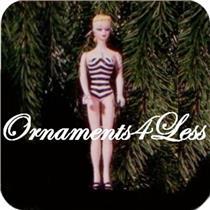 1994 Nostalgic Barbie #1 - 1959 Debut Swimsuit Barbie - #QX5006 - SDB