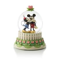2013 A Kiss for Mickey Water Globe - Wonders Within Collection - #CLX2007