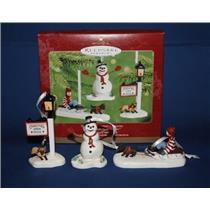 2001 Victorian Christmas Memories - Thomas Kinkade Set of 3 - #QX8292
