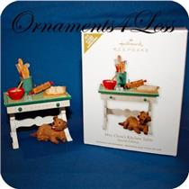 2012 Mrs. Claus's Kitchen Table -Exclusive Limited Edition - Signed - #QMP5035