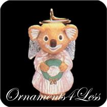 1992 Natures Angels #3 - Miniature Ornament - #QXM5451
