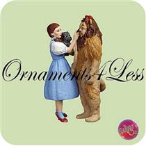2004 Dorothy and The Cowardly Lion - Wizard of Oz - #QXI4021