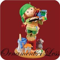 2009 Artistic Elf - Club Ornament - #QXC9022