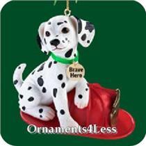 Carlton 2005 Fireman - Dalmatian Puppy - #CXOR055N