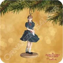 Hallmark Keepsake Ornament  2002 Molly - An American Girl - #QAC6409 - SDB