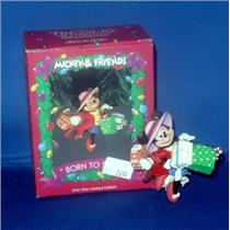 Enesco 1993 Born To Shop - Limited Mickey and Friends - #572942-STKR