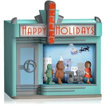 Hallmark Magic Ornament 2014 Window Wonderland - Magic Cord Req. - #QGO1546