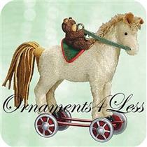 2003 Hallmark Keepsake - A Pony for Christmas #6 - #QX8229 - SDB
