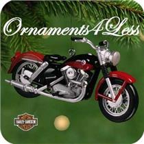 2001 Harley Davidson #3 - 1957 XL Sportster - #QXI8125 - NO TAG