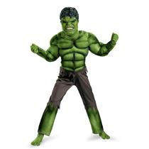 Avengers: Bruce Banner Incredible Hulk Classic Muscle Child Costume Large 10-12