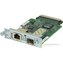 Cisco EHWIC-1GE-SFP-CU Dual Mode 1 port SFP/Copper Compatible 1900/2900/3900