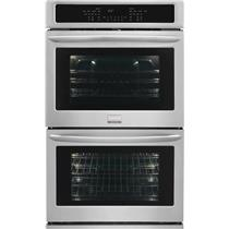 "Frigidaire Gallery Series 30"" Double Electric Wall Oven Stainless FGET3065PF"