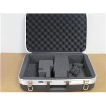 Platt  1425  Light Duty ABS Series Case w/Pick-n-Pluck Cubed Foam, (Black)