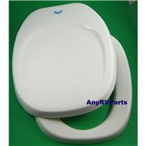 Thetford Toilet Seat & Lid 36788 White Aqua Magic