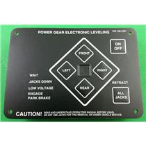 Power Gear Leveling Jack Touch Pad 140-1231 Control