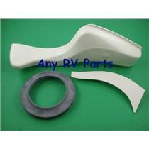 Thetford 42068 Style II High RV Toilet Pedal Bone