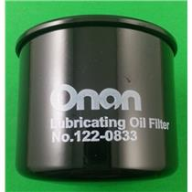 Onan Genuine 122-0833 OEM Cummins Oil Filter HDKAH HDKAJ HDKAK 185-5409